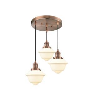 Small Oxford - 3 Light Multi-Pendant
