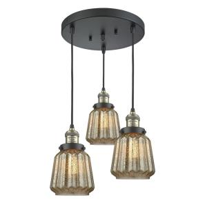 Chatham - 3 Light Multi-Pendant