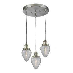 Geneseo - Three Light Adjustable Cord Pan Chandelier