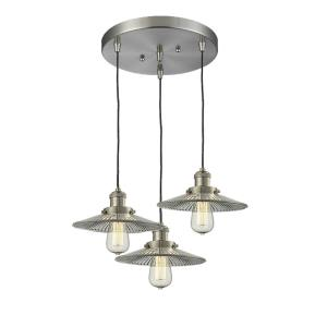 Three Light Pan Chandelier