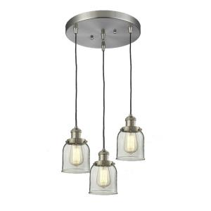 Small Bell - 3 Light Multi-Pendant