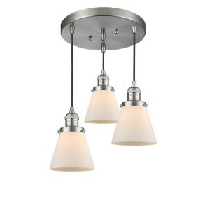 Small Cone - 3 Light Multi-Pendant