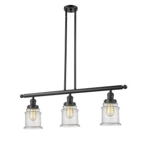 Canton - Three Light Adjustable Stem Island