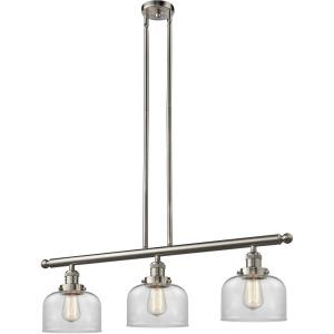 Large Bell - 40.5 Inch 3 Light Island