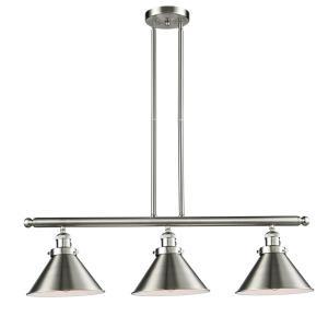 Briarcliff - Three Light Adjustable Stem Island