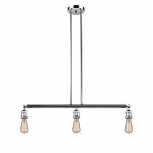 Bare Bulb - 38.25 Inch 10.5W 3 LED Island