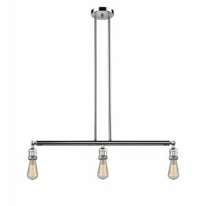 Bare Bulb - 38.25 Inch 3 Light Island