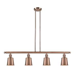 Addison-12W 4 LED Island-5.25 Inches Wide by 10 Inches High
