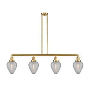 Geneseo-14W 4 LED Island in Industrial Style-51.63 Inches Wide by 10 Inches High