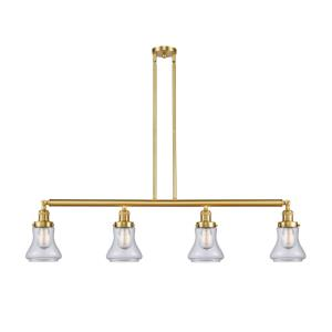 Bellmont-4 Light Island in Industrial Style-50.88 Inches Wide by 11 Inches High