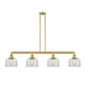 Large Bell-4 Light Island-48 Inches Wide by 8 Inches High