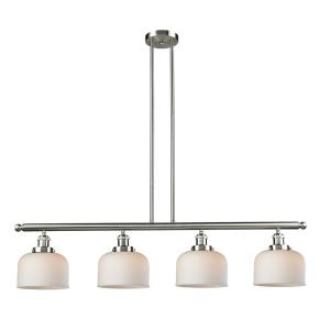 Large Bell - 52.63 Inch 4 Light Island
