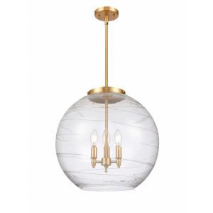 Deco Swirl - 3 Light Pendant