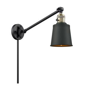 Addison-1 Light Swing Arm Wall Mount in Traditional Style-8 Inches Wide by 25 Inches High