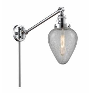 Geneseo-1 Light Swing Arm Wall Mount in Industrial Style-8 Inches Wide by 25 Inches High