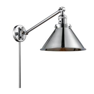 Briarcliff-1 Light Swing Arm Wall Mount in Traditional Style-10 Inches Wide by 25 Inches High