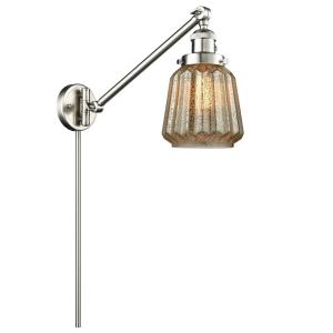 Chatham - One Light Adjustable Swing Arm Portable Wall Sconce