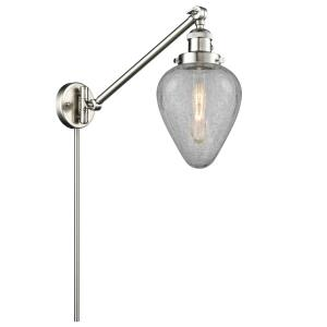 Geneseo - One Light Adjustable Swing Arm Portable Wall Sconce