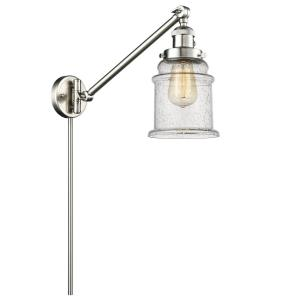 Canton - Two Light Adjustable Swing Arm Portable Wall Sconce