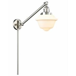 Small Oxford - 25 Inch 1 Light Swing Arm Wall Mount