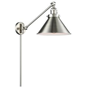 Briarcliff - One Light Adjustable Swing Arm Portable Wall Sconce