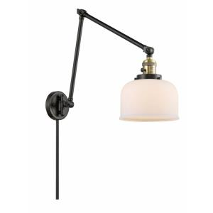 Large Bell - 30 Inch 1 Light Swing Arm Wall Mount