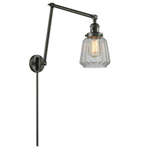 Chatham - One Light Adjustable Double Swing Arm Portable Wall Sconce