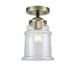 Canton - 9.63 Inch 1 Light Semi-Flush Mount