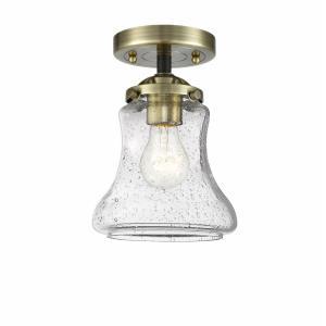 Bellmont - 8.63 Inch 1 Light Semi-Flush Mount