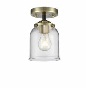 Small Bell - 8.13 Inch 3.5W 1 LED Semi-Flush Mount