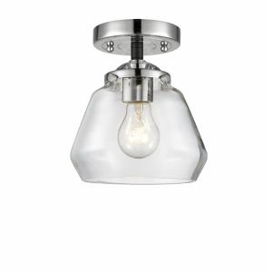 Fulton - 7.63 Inch 1 Light Semi-Flush Mount