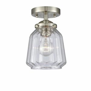 Chatham - 6 Inch 3.5W 1 LED Semi-Flush Mount