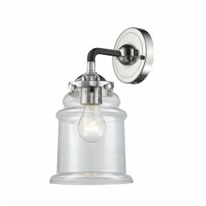 Canton-1 Light Wall Sconce in Transitional Style-6 Inches Wide by 10.5 Inches High