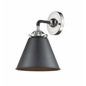 Appalachian-1 Light Wall Sconce in Transitional Style-8 Inches Wide by 9.38 Inches High