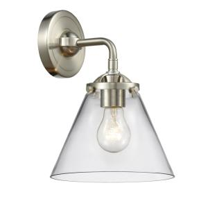 Large Cone - 9.25 Inch 1 Light Wall Sconce
