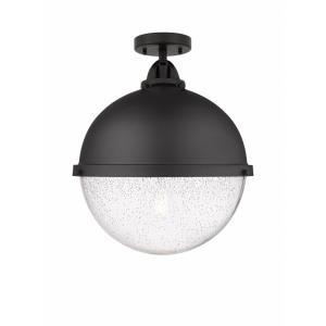 Hampden - 12.88 Inch 1 Light Semi-Flush Mount