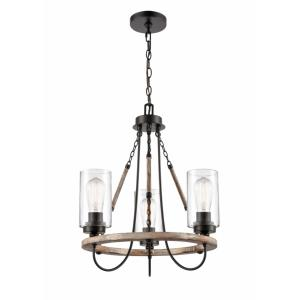 Paladin - 3 Light Mini Chandelier