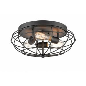 Muselet - 15 Inch 10.5W 3 LED Flush Mount