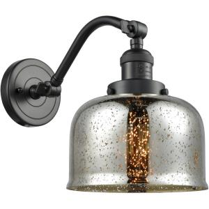 Large Bell - 11.5 Inch 1 Light Wall Sconce