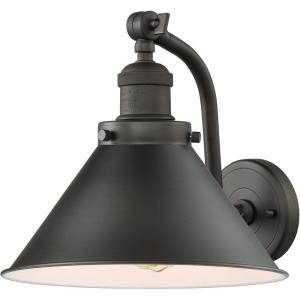 Briarcliff-3.5W 1 LED Wall Sconce in Traditional Style-8 Inches Wide by 11.5 Inches High