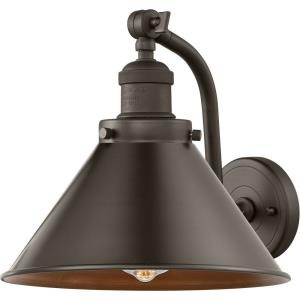 Briarcliff-1 Light Wall Sconce in Traditional Style-8 Inches Wide by 11.5 Inches High
