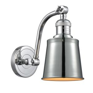 Addison-3.5W 1 LED Wall Sconce in Traditional Style-5 Inches Wide by 11.5 Inches High