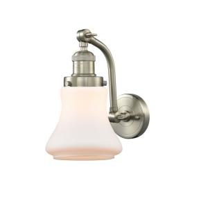 Bellmont-1 Light Wall Sconce in Industrial Style-6.5 Inches Wide by 11.5 Inches High