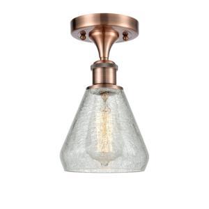 Conesus - 1 Light Semi-Flush Mount