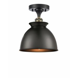 Adirondack - 1 Light Semi-Flush Mount