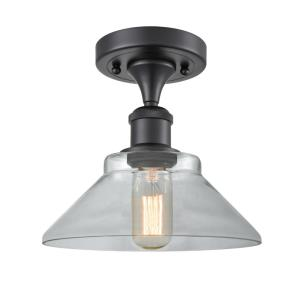 Orwell - 1 Light Semi-Flush Mount