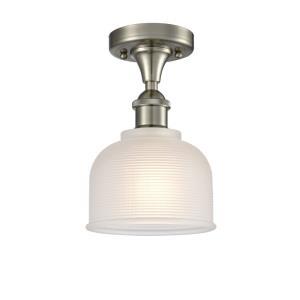 Dayton - 10.5 Inch 3.5W 1 LED Semi-Flush Mount
