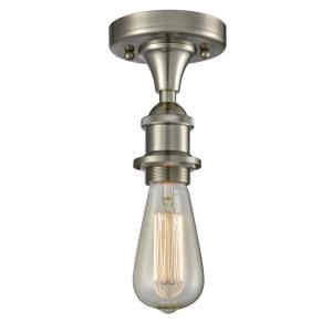 Bare Bulb - 4.5 Inch 3.5W 1 LED Semi-Flush Mount