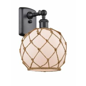 Farmhouse Rope - 1 Light Wall Sconce