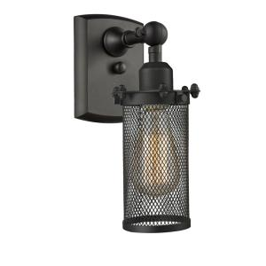 Bleecker-3.5W 1 LED Wall Sconce in Modern Contempo Style-5 Inches Wide by 12 Inches High